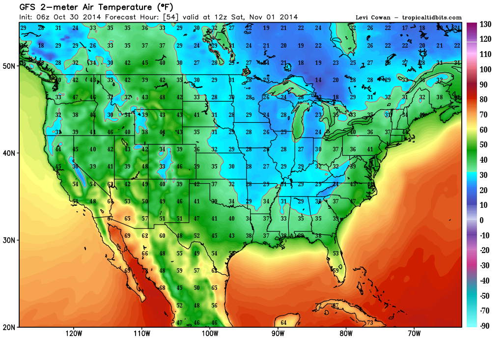 Early Fall Nor'easters for 2014…record Low temps on the way.