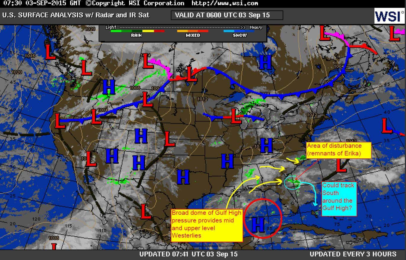 Erika Surface Map 9-3-15