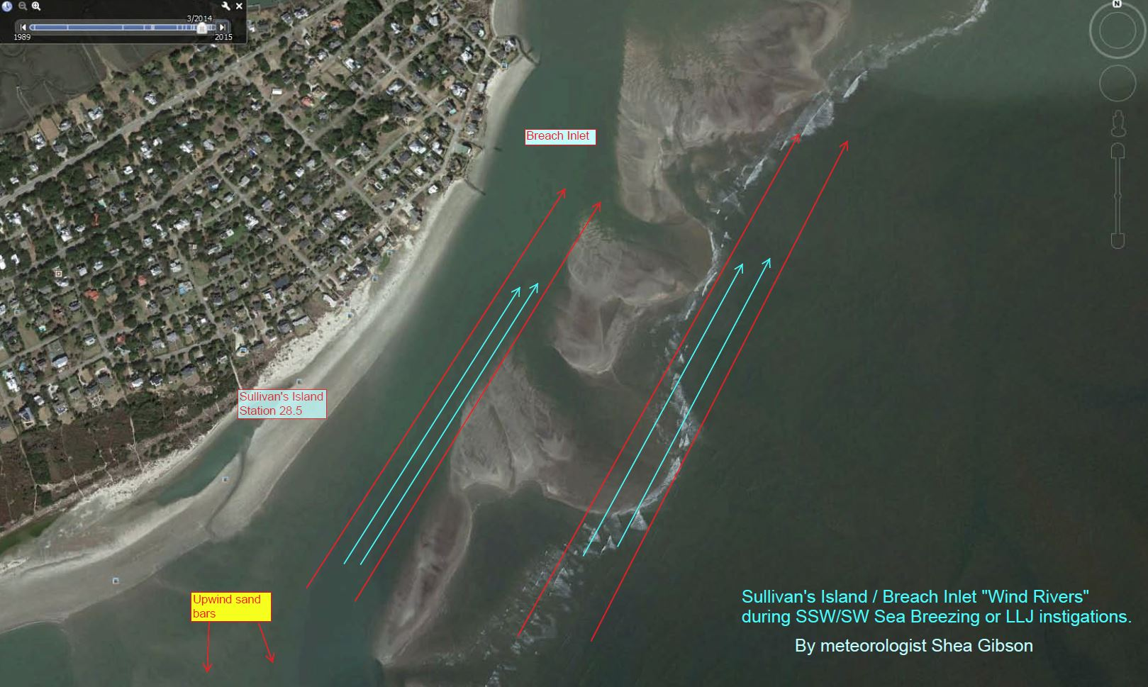 Breach Inlet Wind Rivers